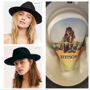 ✨Vtg Stetson 🐴 ✨!! 1970s beaver felt cowboy hat!